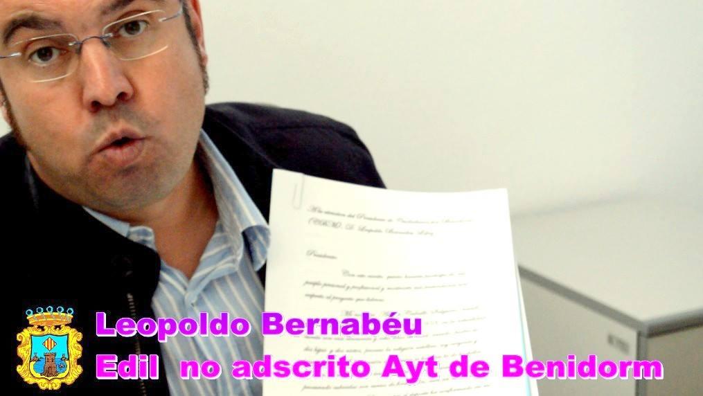 Resultado de imagen de LEOPOLDo david bernabeu
