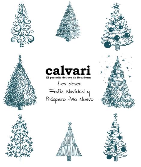 CALVARI les desea Feliz Navidad y Próspero Año Nuevo