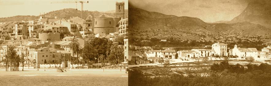Resultado de imagen de fotos de la antigua iglesia de villajoyosa