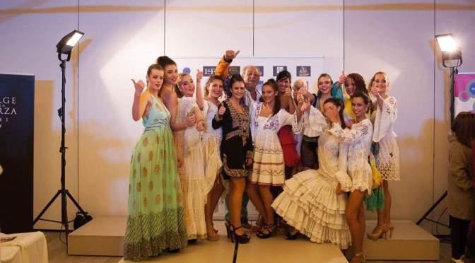 Penelope Chic desfila en la Gijón Fashion Show