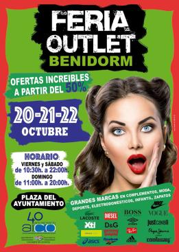 Feria Outlet del 20 al 22 de octubre en Plaza SS.MM. Reyes de España