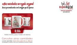 Estas navidades un regalo original, tazas personalizadas con la imagen que tu quieras -Espai Digital Imprenta