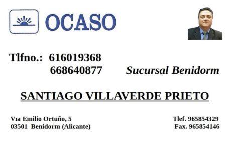 Santiago Villaverde Prieto Agente Seguros Ocaso