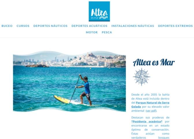 """""""Altea es mar"""" renueva su imagen y apuesta por el turismo náutico sostenible"""