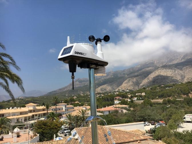 La Concejalía de Seguridad Ciudadana de Altea anuncia la adquisición de 2 estaciones meteorológicas para el municipio