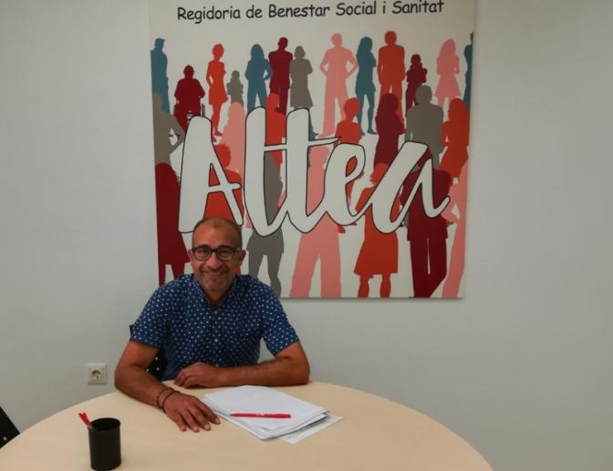 El Concejal de Bienestar Social de Altea anuncia la puesta en marcha del proyecto de Tarjetas Sociales para la compra de productos alimentarios y de primera necesidad