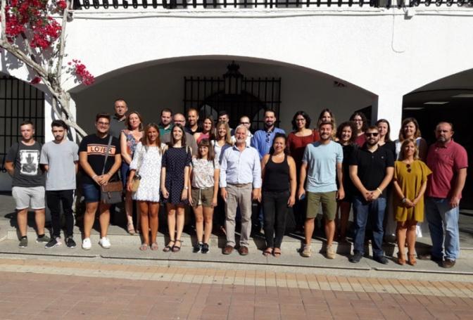 Se incorporan al Ayuntamiento de Altea los 18 jóvenes del programa Avalem Joves Plus