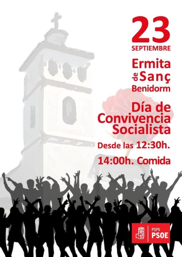 Jornada de Convivencia PSOE Benidorm -Ermita de Sanç, 23 septiembre 2018