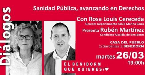 Sanidad Pública, avanzando en derechos -Casa del Pueblo PSPV-PSOE Benidorm, 26 marzo 2019 19h