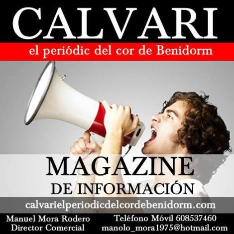 Anúnciese en CALVARI