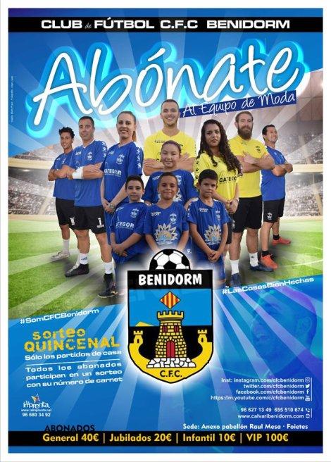 Abónate al CF Calvari, para la temporada 2019-2020