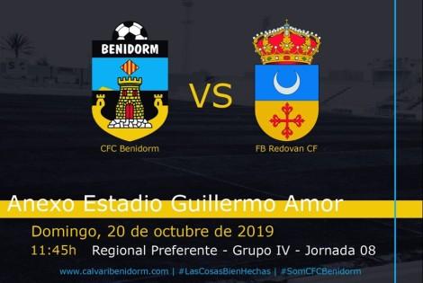 CF Calvari - Redován. Domingo, 20 octubre 2019 11´45h