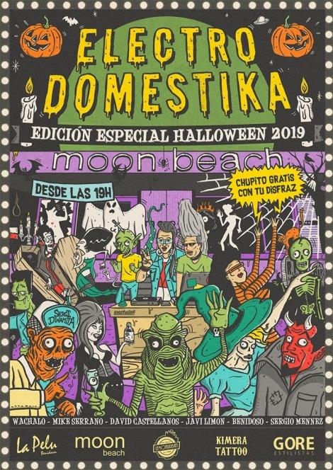 Electrodomestika, edición especial Halloween 2019 -Moonbeach