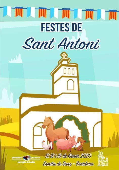 Festes de Sant Antonin -Ermita de Sanç, del 17 al 19 de gener 2020